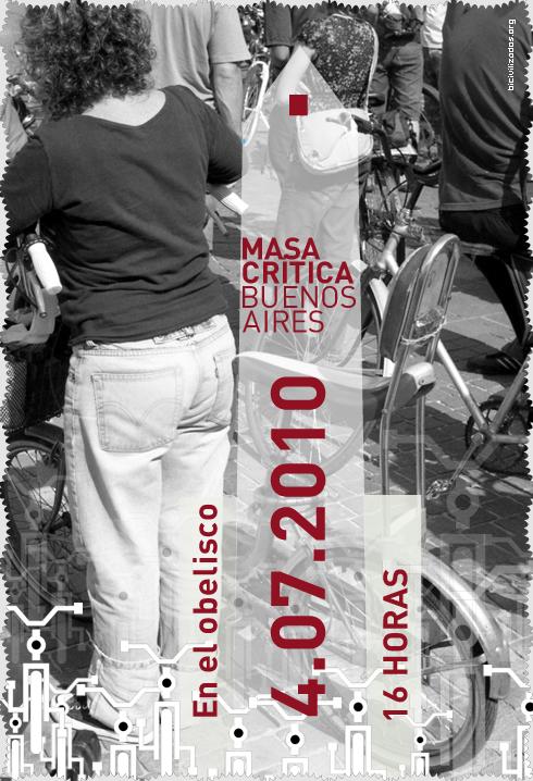 Masa Crítica Buenos Aires, Julio 2010