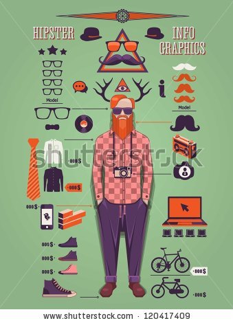 stock-vector-hipster-info-graphic-background-hipster-elements-and-icons-120417409