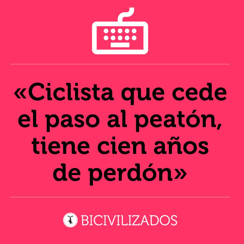 Preferência Frases Bicivilizadas – Bicivilizados. Ciclismo urbano. Alegría  FM13