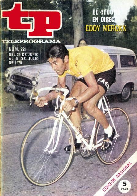 TP 0221 Ciclismo, Tour de Francia - Eddy Merckx