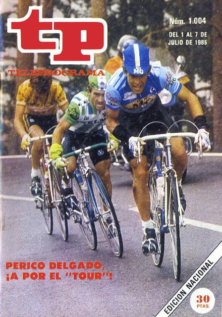 TP 1004 Ciclismo, Tour de Francia - Perico Delgado