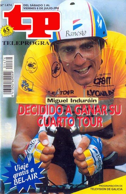 TP 1474 Ciclismo, Tour de Francia - Miguel Indurain