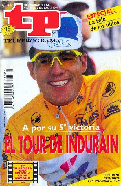 TP 1526 Ciclismo, Tour de Francia - Miguel Indurain