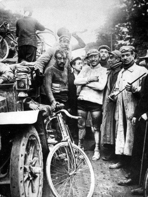 Winner of the first Tour de France 1903