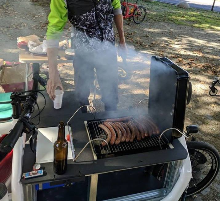 cargo bike parrilla