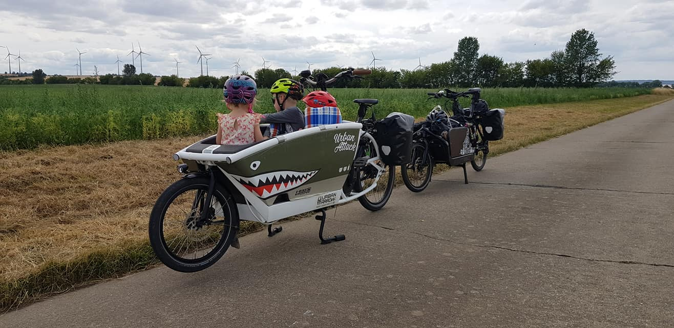 Cargo Bike tipo tiburón