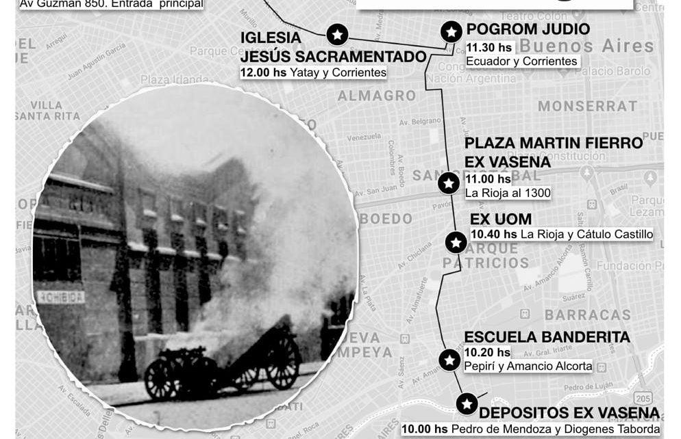 Pedaleada en Buenos Aires por los 101 años de la Semana Trágica. Bicivilizados