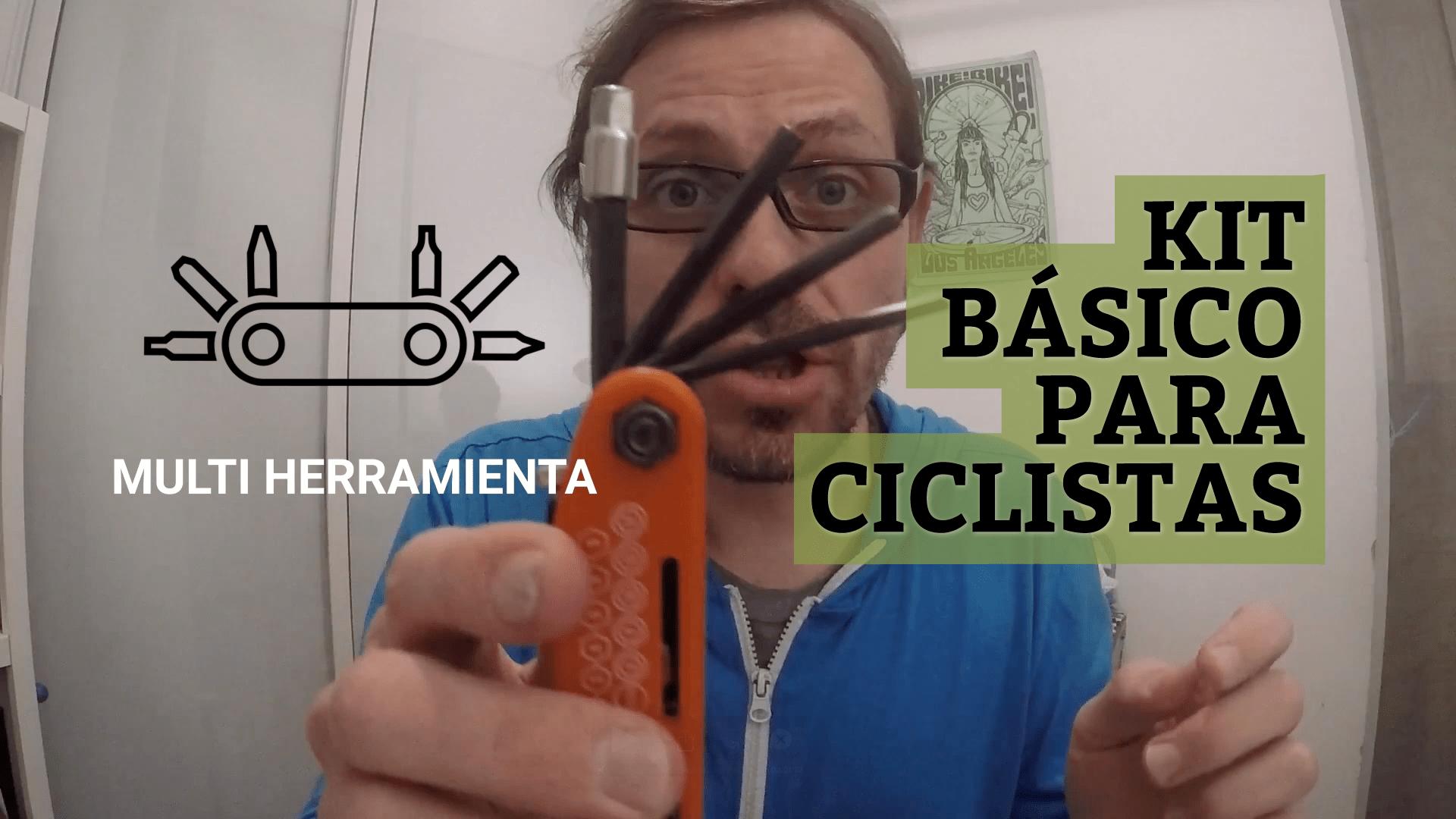 Kit básico para ciclistas
