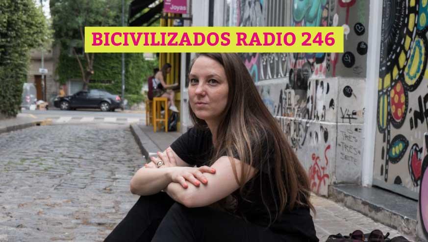 Estefania Pozzo en Bicivilizados Radio