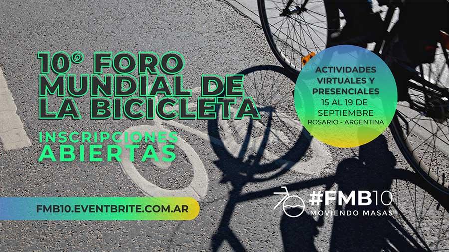 Inscripciones abiertas decimo foro mundial de la bicicleta